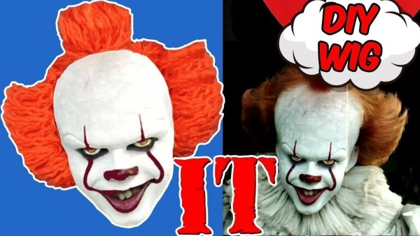 It Clown Wig Diy  Pennywise Wig 2017  Crazy About Diy