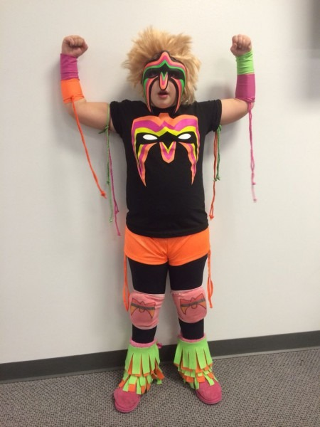 Wwe The Ultimate Warrior Costume
