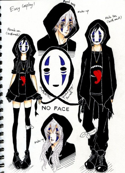 Cosplay Costume No Face Human Ver By Alanfoxbt4c On Deviantart