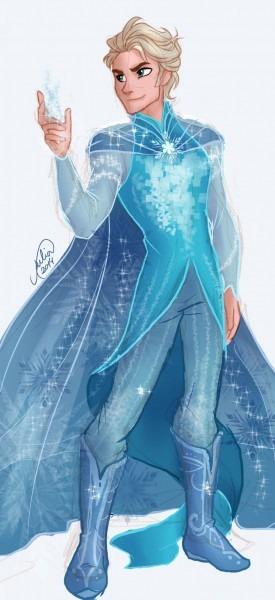 Cool Design For Male Elsa
