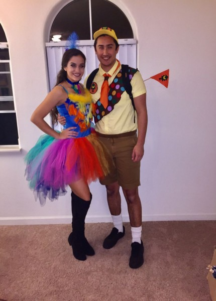 Disney's Up Movie, Kevin And Russell Couples Costume