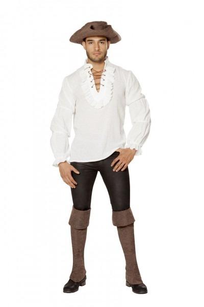 Men's Ruffled Pirate Shirt