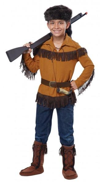 Frontierboy Davy Crockett Costume @fantasypartys