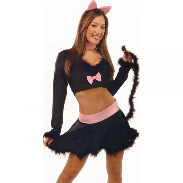 Sexy Black Cat Adult Womens Costume