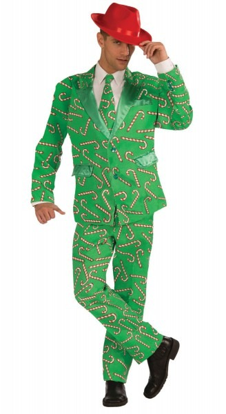 Candy Cane Suit Adult Xlarge