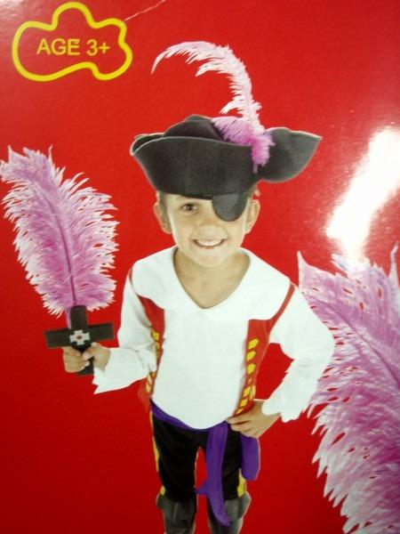 Du3  Wiggles Captain Feathersword Costume