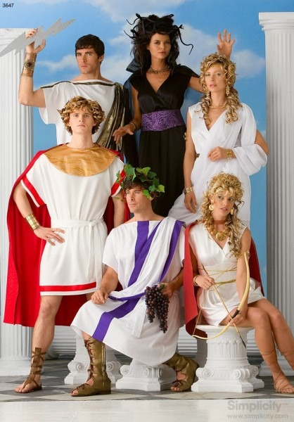 Great Group Costume Idea And Concept! Greek Mythology Gods And