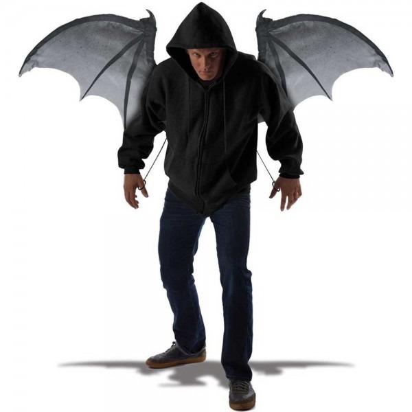 Amazon Com  California Costumes Men's Wicked Wings, Gray Black