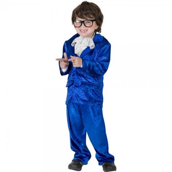 Amazon Com  Funfill Boys Austin Powers Halloween Costume  Clothing