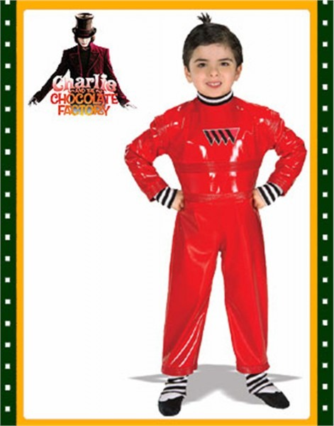Oompa Loompa Charlie Chocolate Factory Child Costume