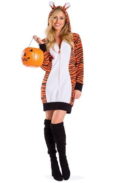 Tiger Costume  Shop Adult Women's Halloween Tigress Dresses