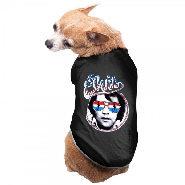 Elvis Presley Hillbilly Cat Pet Supplies Puppy Clothes Lovely Pet