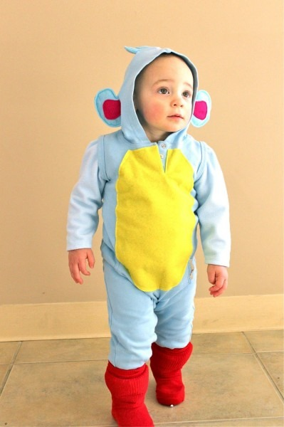 Such A Cute Boots Halloween Costume From Dora The Explorer