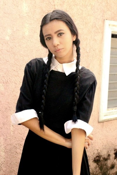 Diy  Wednesday Addams Halloween Costume