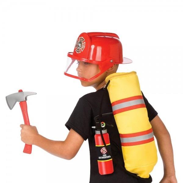 Boys' Gear To Go Fireman Adventure Play Set, Boy's, Red