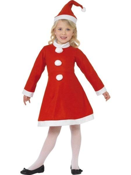 Sale  Smiffys Girls  Santa Claus Father Christmas Fancy Dress