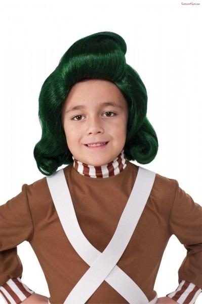 Oompa Loompa Child Wig Loompa,  Oompa,  Wig