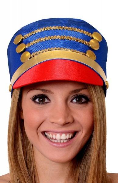 Blue Nutcracker   Toy Soldier Hat