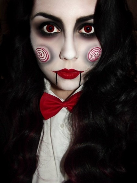 Saw Special  Billy The Puppet Costume, Makeup Tutorials And Masks