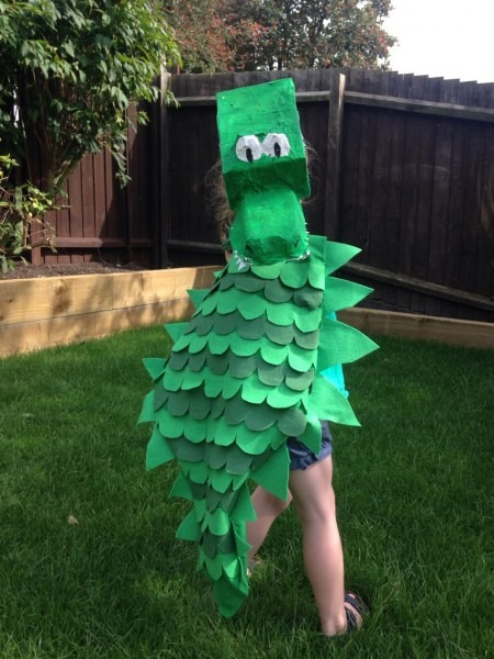 Enormous Crocodile Costume