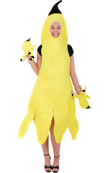 Adult Banana Girl Costume