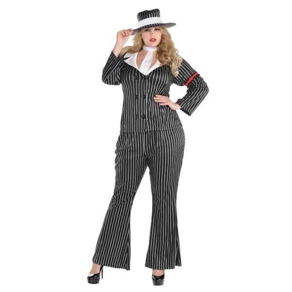 Amazon Com  Mob Boss Wife Halloween Costume For Women, Plus Size