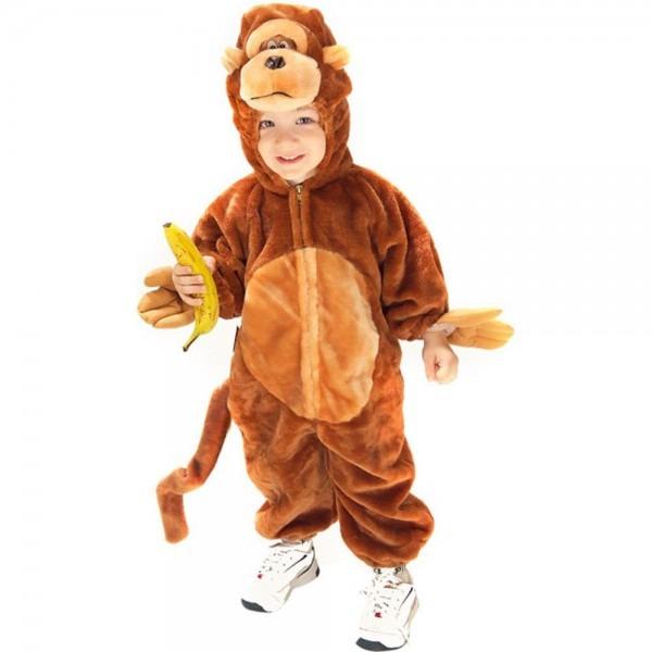Amazon Com  Toddler Plush Monkey Costume  Clothing