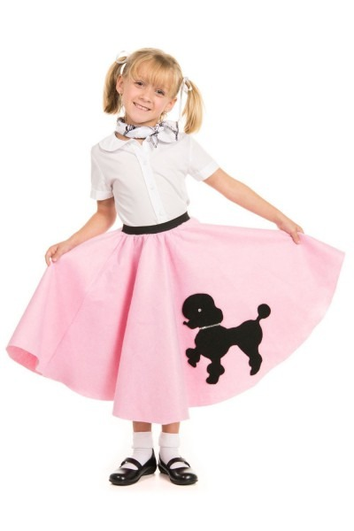 Amazon Com  Poodle Skirt With Musical Note Printed Scarf By