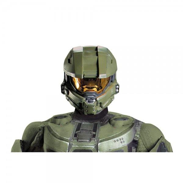 Amazon Com  Halo Master Chief Adult Full Helmet Costume Accessory