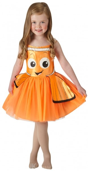 Finding Nemo Fish Girls Fancy Dress Disney Childrens Book Kids Sea