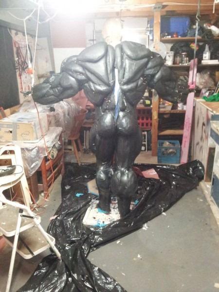 Venom Costume 3 0 Latex Stage By Mongrelman On Deviantart