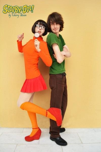Shaggy And Velma Cosplay By Cherrysteam On Deviantart