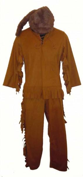 Frontiersman Davy Crockett Mountain Man Boys Costume 6786
