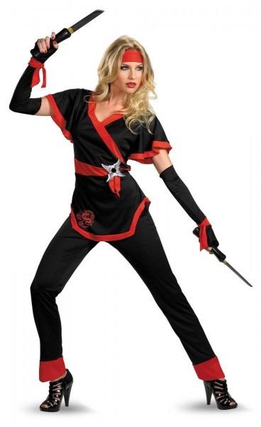Ninja Dragon Female Adult Costume