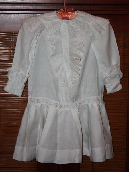 Antique Little Girl Victorian Dress Late 1800s