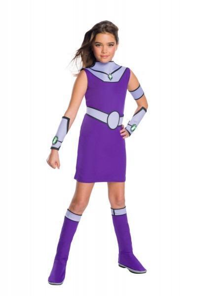 Kids Teen Titans Go Starfire Costume Medium (8