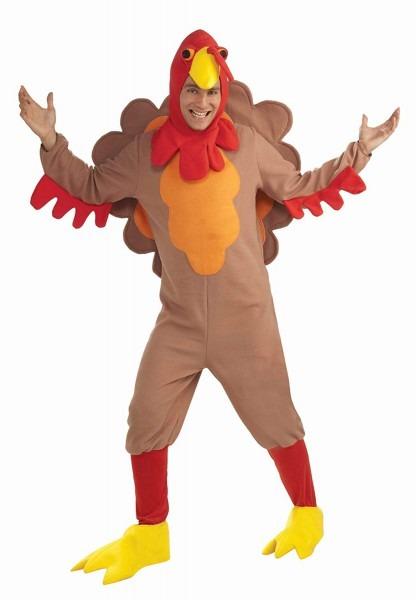 Amazon Com  Forum Novelties Adult Fleece Turkey Costume  Toys & Games