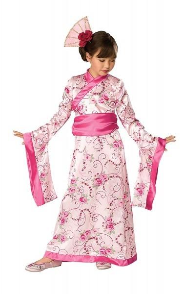 Amazon Com  Rubie's Let's Pretend Child's Asian Princess Pink
