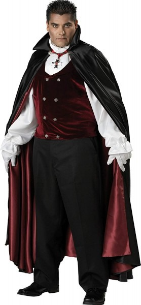 Amazon Com  Incharacter Costumes, Llc Men's Gothic Vampire Costume