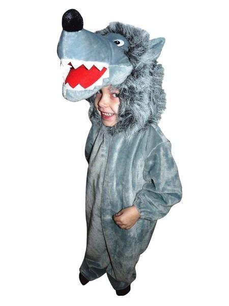 Amazon Com  Fantasy World F49 Halloween Wolf Costume For Children