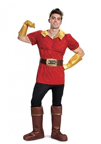 Amazon Com  Disney Beauty And The Beast Gaston Mens Costume X