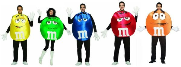 Candy Poncho Group Costume