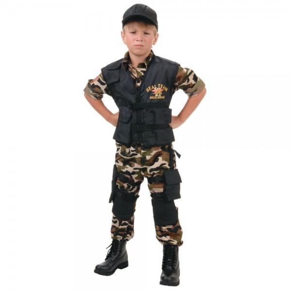 Boy's Seal Team Costume