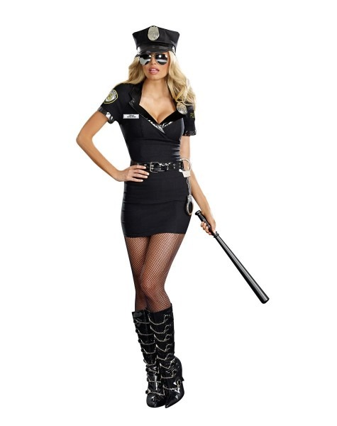 Dirty Cop Anita Adult Womens Costume