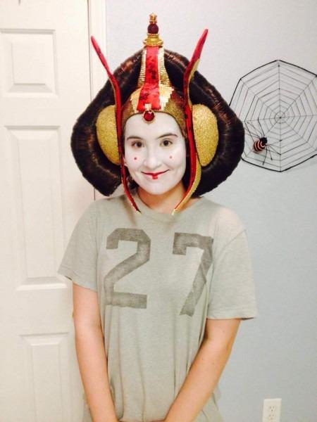 Queen Amidala Headpiece Is Done!