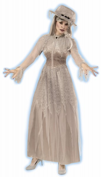 Adult Spooky Spirit Haunted Mansion Victorian Ghost Bride