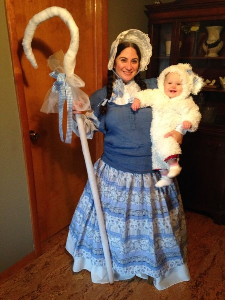 Little Bo Peep Found Her Little Sheep