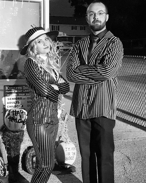 Mob Boss & Mob Wife  Costume  Halloween  1920s