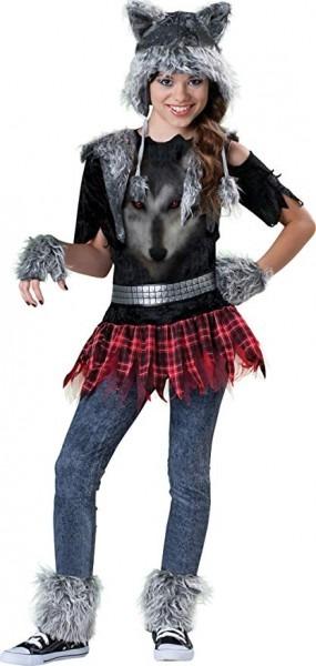 Amazon Com  Incharacter Costumes Tween Wear Wolf Costume, Grey