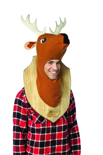 Amazon Com  Rasta Imposta Oh Deer Trophy Costume, Brown, One Size